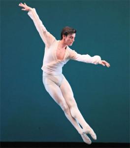 Joseph Walsh in George Balanchine's Ballo della Regina. PHOTO: AMITAVA SARKAR.