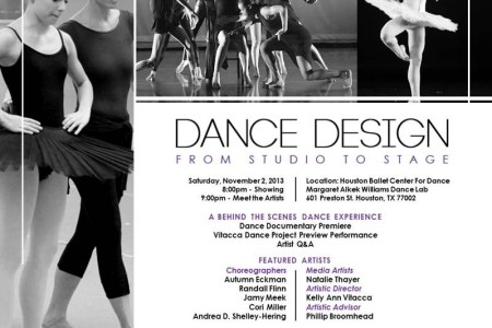 Vitacca P&C Presents Dance Design: From Studio To Stage