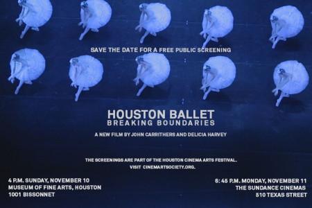 Houston Cinema Arts Festival Premieres Houston Ballet Documentary
