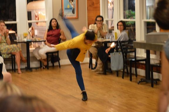 Frame Dance Productions' Dinner/Dance 19. Photo by Jonathon Hance.