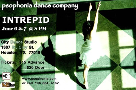 Psophonia Dance Company Presents Intrepid