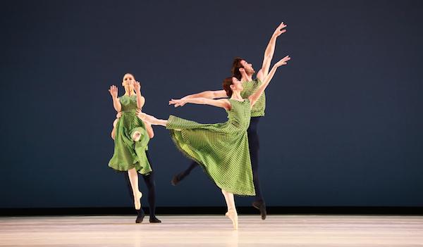 Mark Morris' The Letter V.  Artists of Houston Ballet. Photo by Amitava Sarkar.