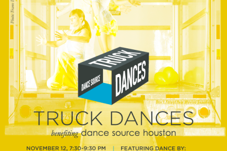 Dance Source Houston's Truck Dances Featuring Urban Souls Dance Company