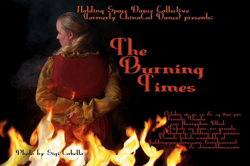 burning times large poster