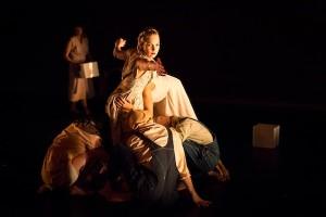 Brit Deveau with ODP Ensemble in Pretty Boy Choreography by Annie Arnoult. Photo by Lynn Lane