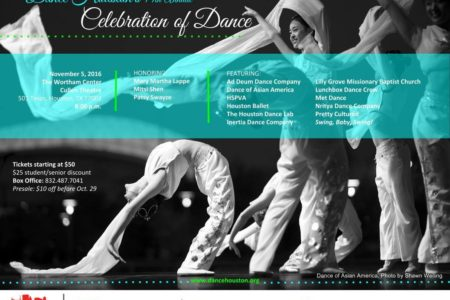Dance Houston Gives a Special Salute to Legacy Teaching Dance Artists at the  14th Annual Celebration of Dance at The Wortham Center