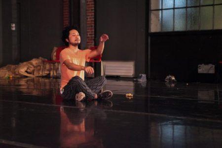 Choreographer Takahiro Yamamoto and  Performance Artist sidony o'neal in Residence in Houston