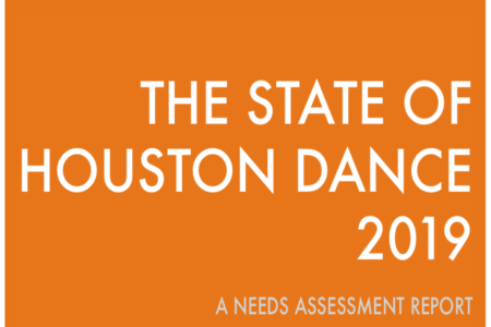 Dance Source Houston Releases Report on the State of Houston Dance