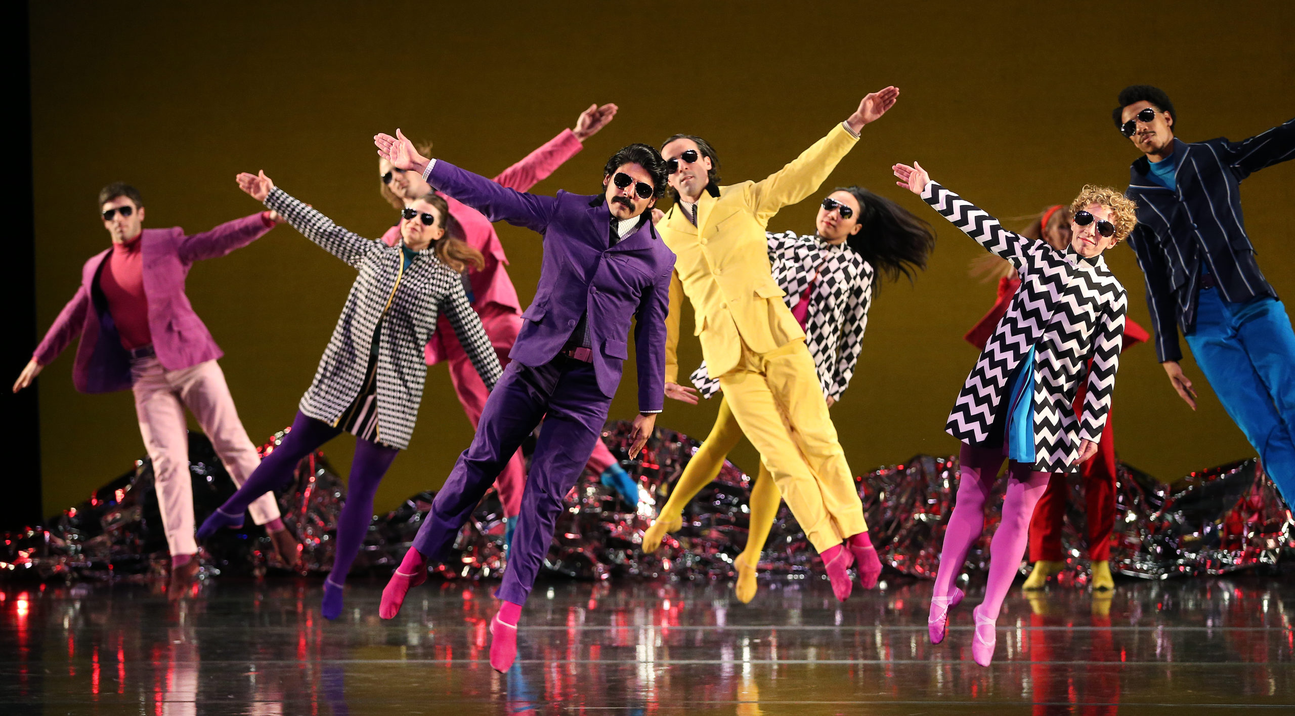 A Transcendent Re-Invasion: Mark Morris Dance Group Presents its Kaleidoscopic Interpretation of the Beatles in Pepperland